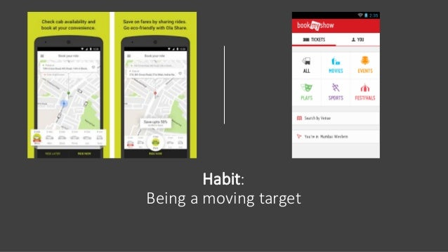 Habit: Being a moving target