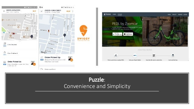 Puzzle: Convenience and Simplicity