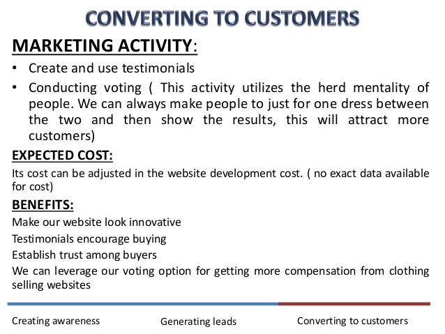 GTM Strategy for E-commerce Website into third layer clothing