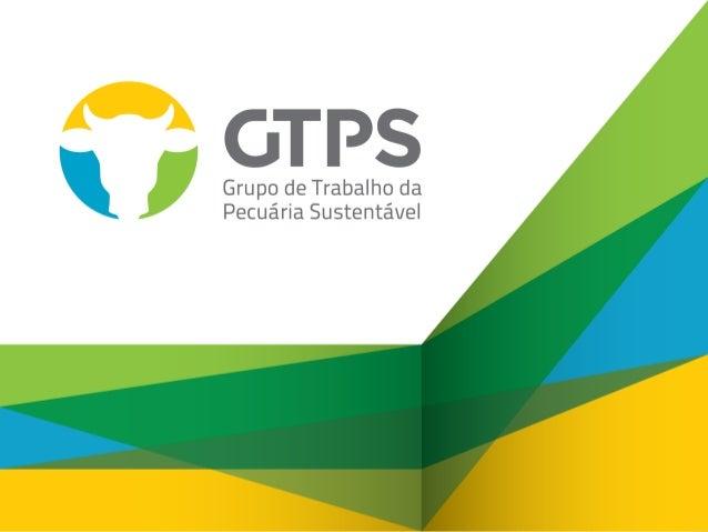 AGENDA: •BRASIL e a Carne Brasileira •Por que GTPS? •Compromissos, Ações e resultados obtidos até agora •Problemas, desafi...