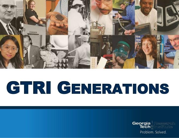 GTRI Generations<br />
