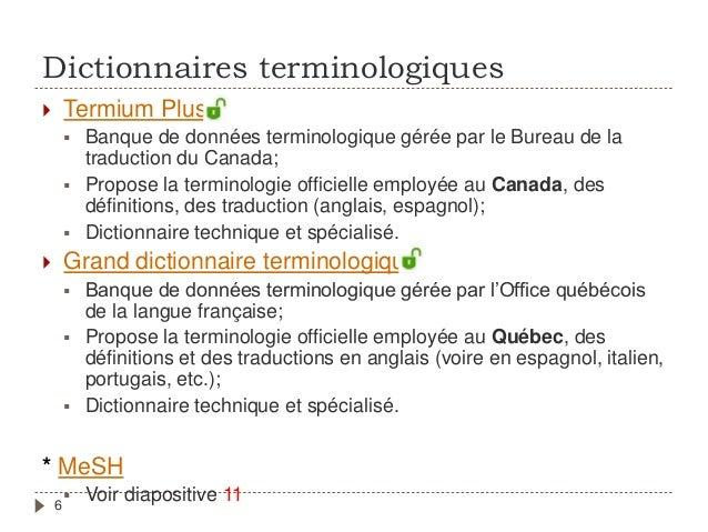 Ts cours gts620 atelier de recherche documentaire - Dictionnaire office de la langue francaise ...