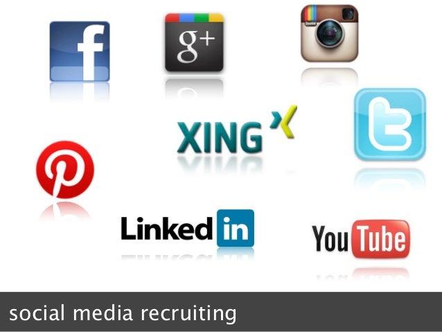social media recruiting