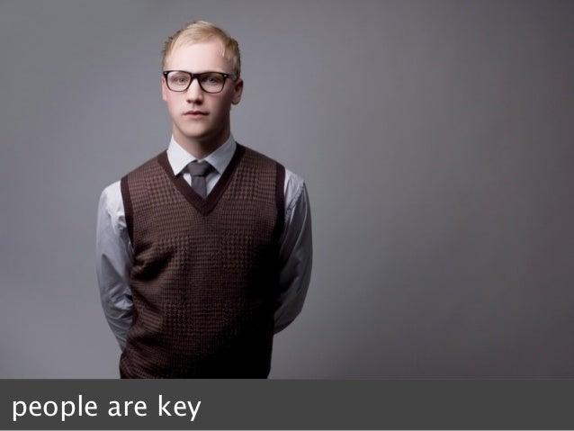 people are key