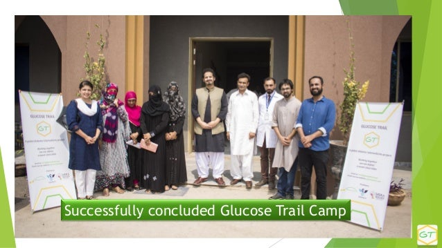 Successfully concluded Glucose Trail Camp
