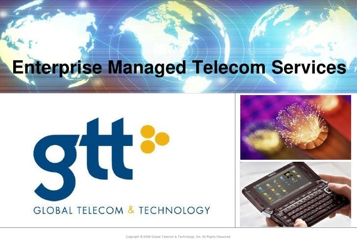 Enterprise Managed Telecom Services<br />