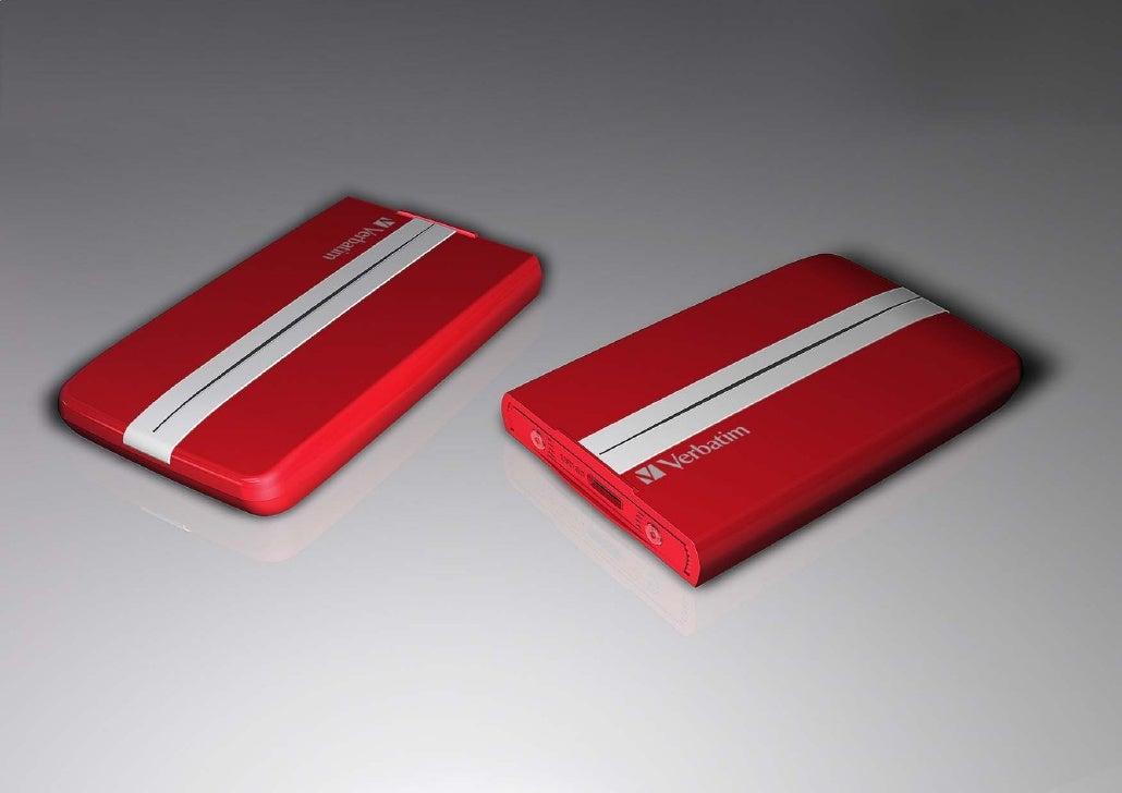 GT HDD Verbatim red