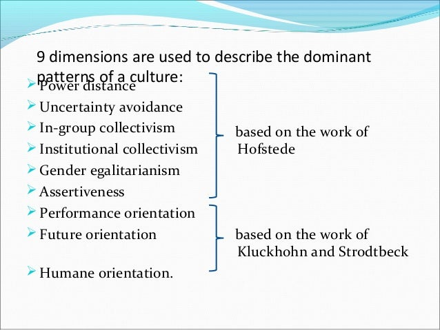 work centrality and hofstede s four dimensions Culture and computer-mediated communication: toward  with network centrality, barnett and sung's  after analyzing how far four of hofstede's dimensions work.