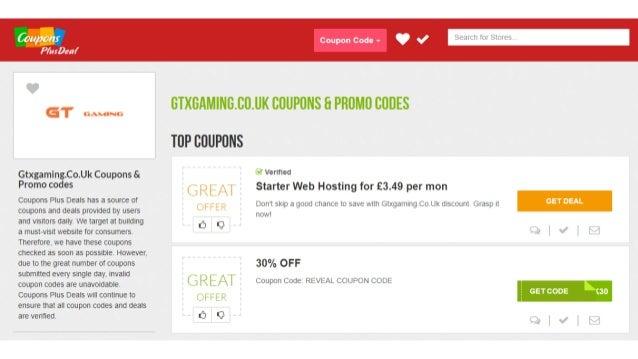 gtxgaming coupon code