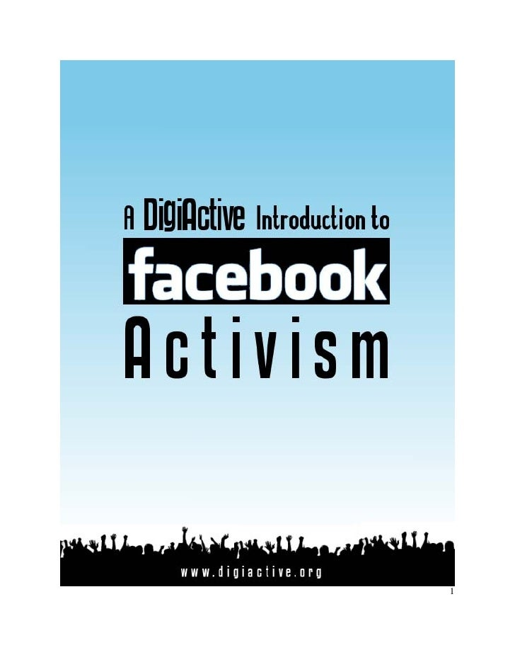 Guía al activismo en Facebook