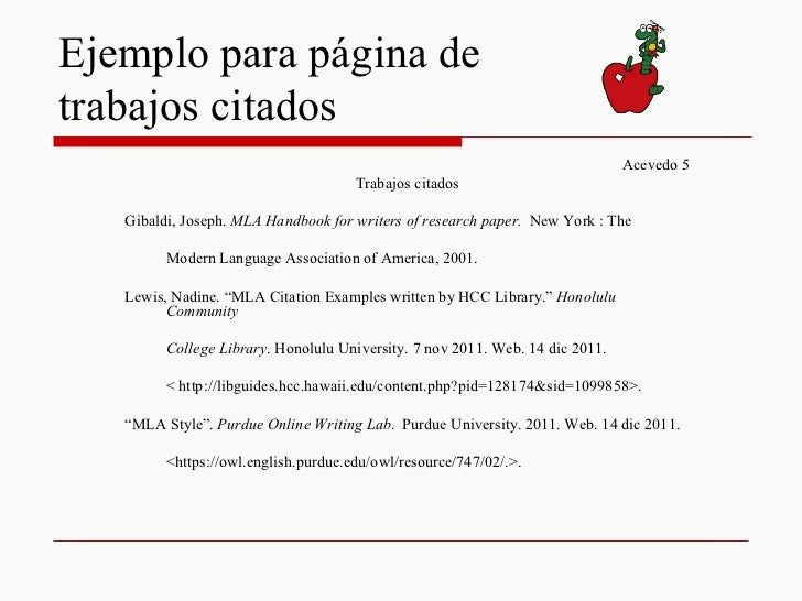 gibaldi mla handbook for writers of research papers