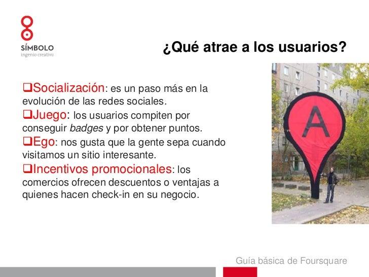 Guía básica foursquare Slide 3