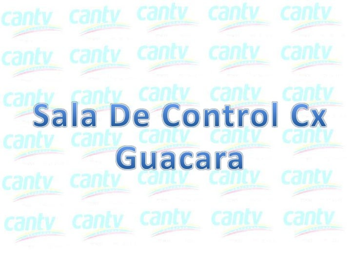 Sala Control Cx