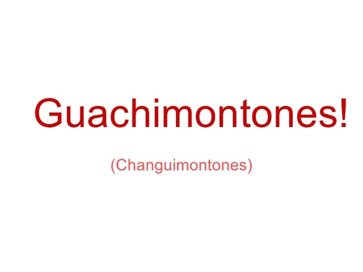 Guachimontones! (Changuimontones)