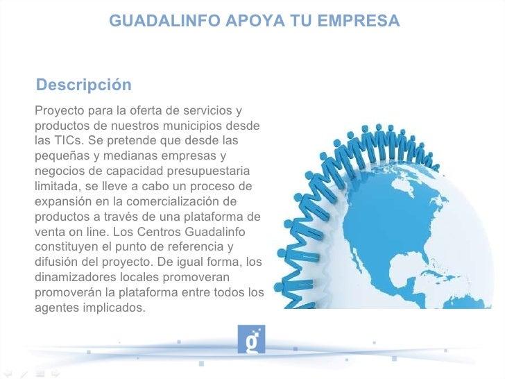 Guadalinfo apoya tu empresa Slide 2