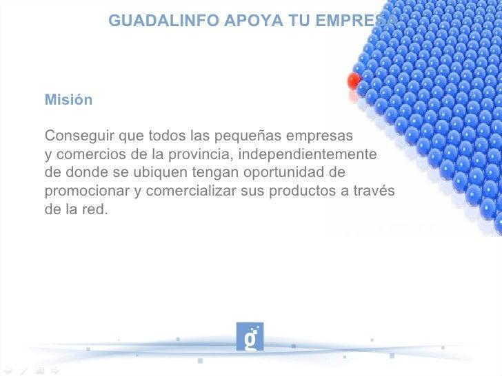 Guadalinfo apoya tu empresa Slide 3