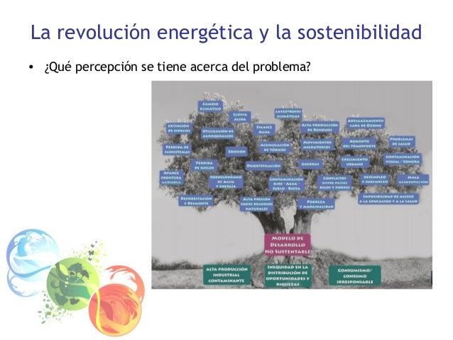 La revolución energética y la sostenibilidad • ¿Qué percepción se tiene acerca del problema?