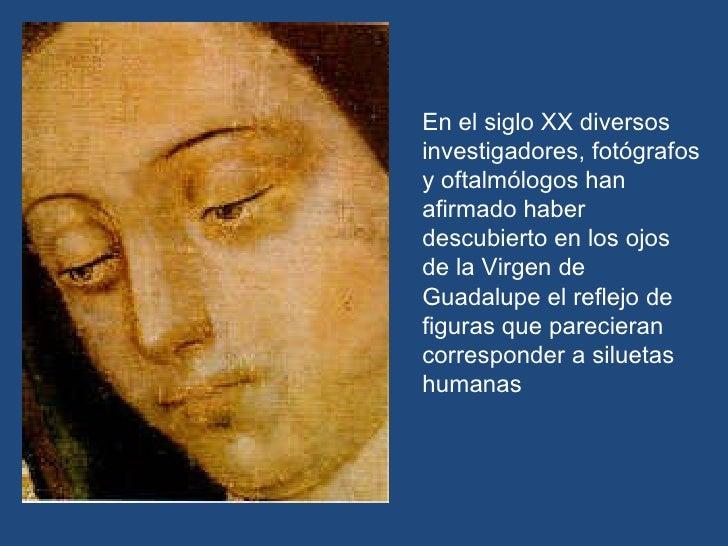 La Virgen De Guadalupe Y Juan Diego >> El milagro de los ojos de la Virgen de Guadalupe