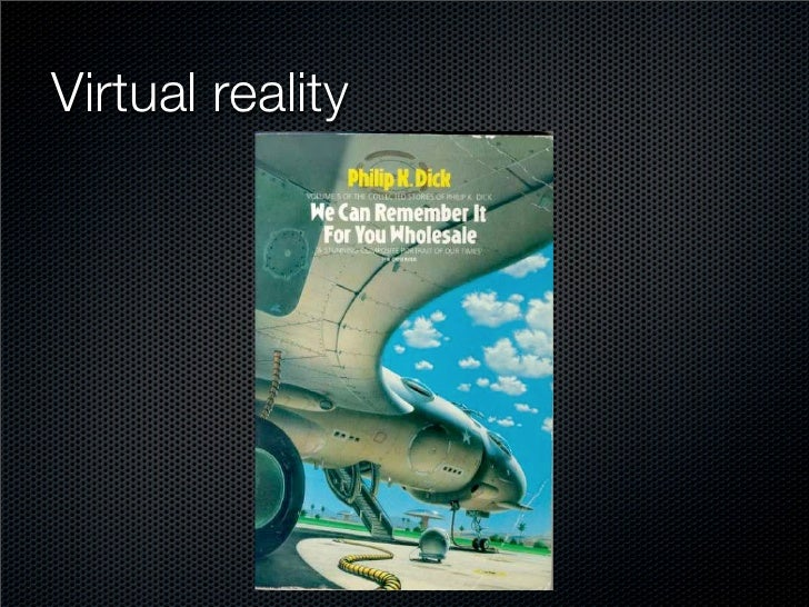 We Can Tag It for You Wholesale: Augmented Reality and the User-Generated World Slide 3