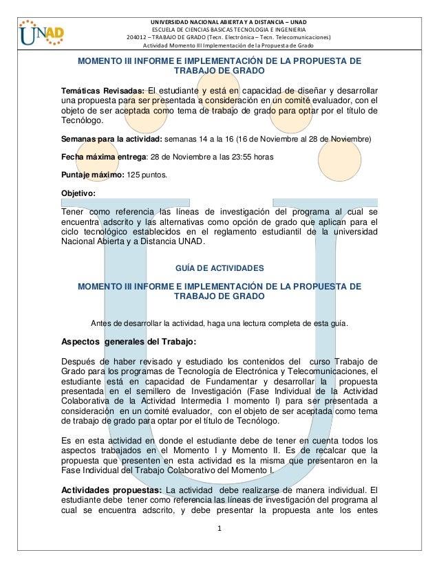 1 UNIVERSIDAD NACIONAL ABIERTA Y A DISTANCIA – UNAD ESCUELA DE CIENCIAS BASICAS TECNOLOGIA E INGENIERIA 204012 – TRABAJO D...