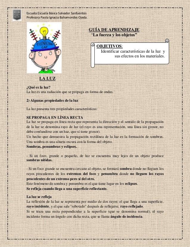 Escuela Escuela Básica Salvador SanfuentesProfesora Paola Ignacia Bahamondes Ojeda.                                       ...