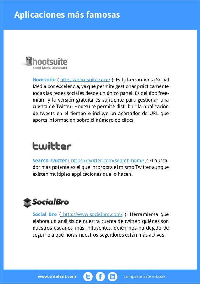 Evaluación de la reputación online  Otro beneficio que podemos conseguir con Twitter es la mejora de nuestra  reputación o...
