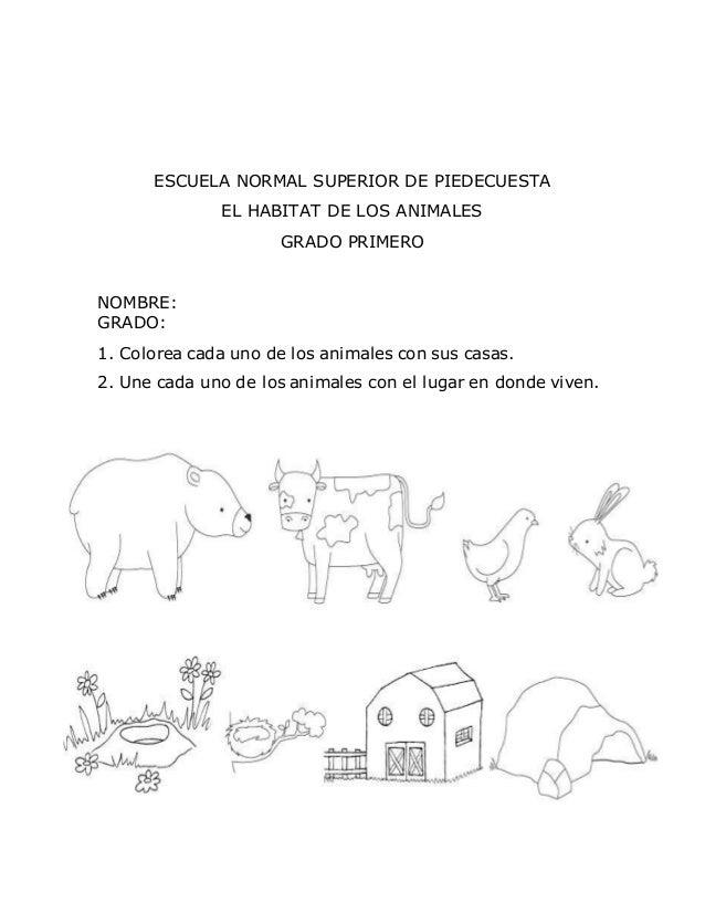 Guía de coloreo los animales (1)
