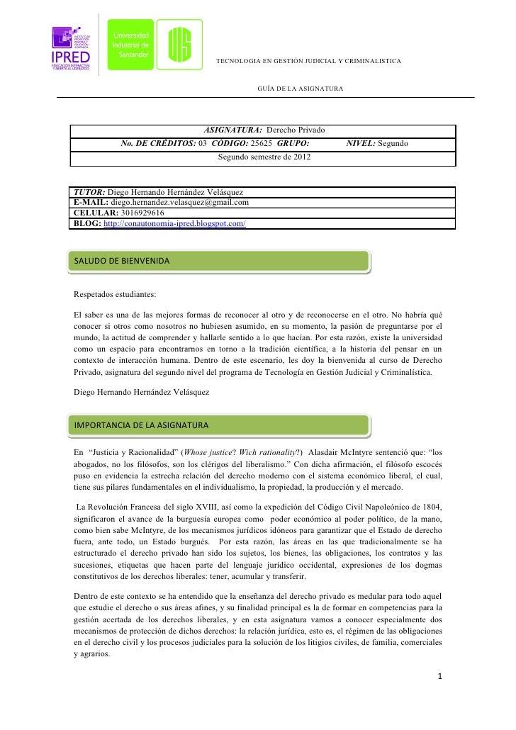 TECNOLOGIA EN GESTIÓN JUDICIAL Y CRIMINALISTICA                                                       GUÍA DE LA ASIGNATUR...