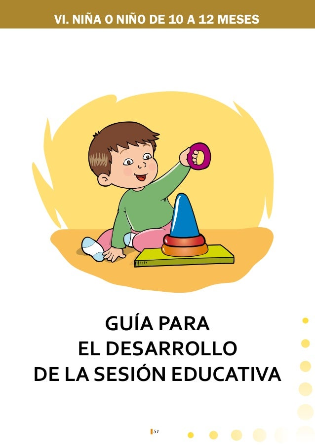 Guía de estimulación temprana para el facilitador