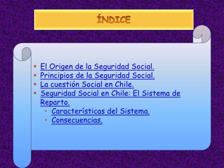 Sistemas de seguridad social en chile - Sistemas de seguridad ...