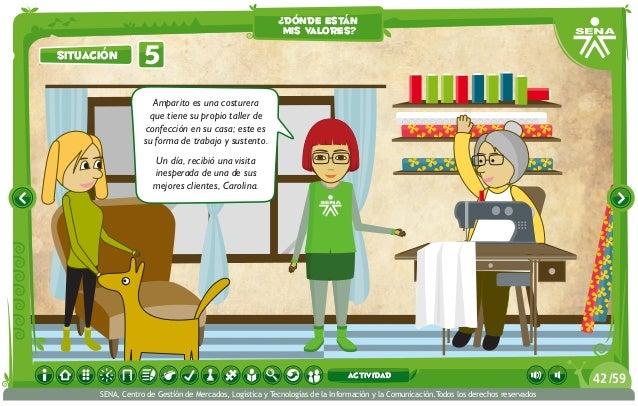 Amparito es una costurera que tiene su propio taller de confección en su casa; este es su forma de trabajo y sustento. Un ...