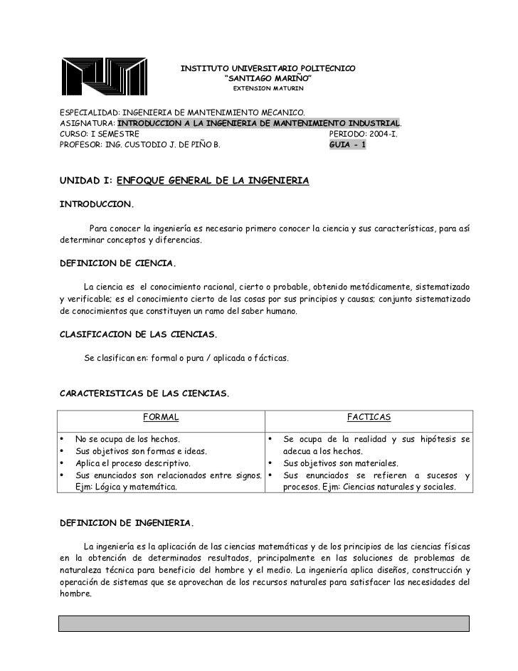 """INSTITUTO UNIVERSITARIO POLITECNICO                                          """"SANTIAGO MARIÑO""""                            ..."""