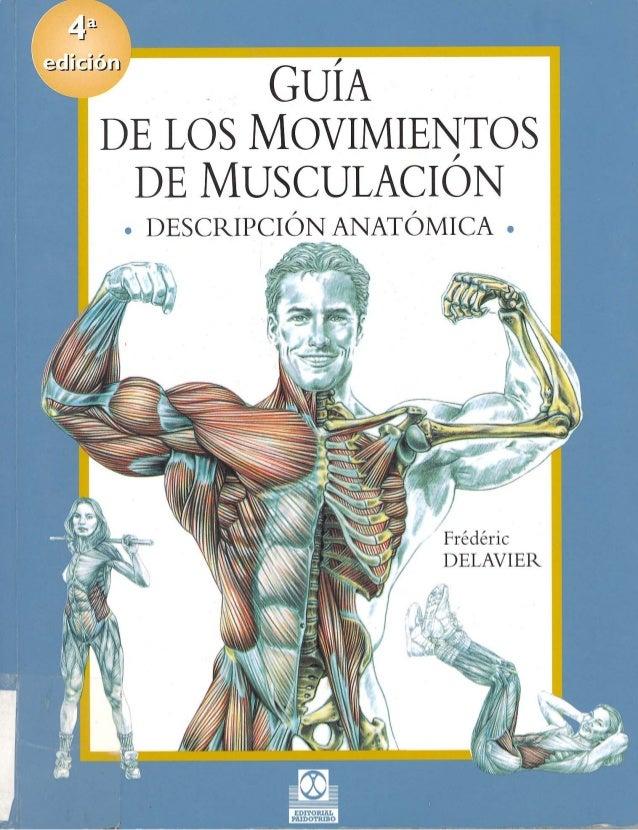 Guía de los movimientos de musculación   f delavier