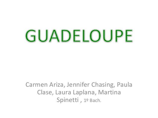 Carmen Ariza, Jennifer Chasing, Paula Clase, Laura Laplana, Martina Spinetti , 1º Bach.