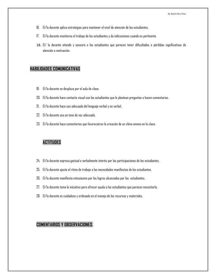 Guía de observación en educación básica secundaria ii Slide 2