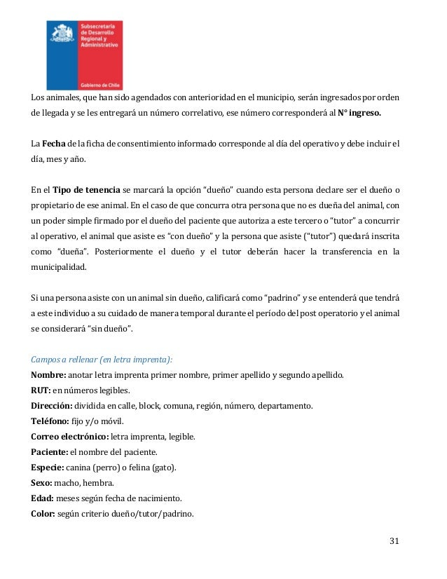 Guía de protocolos médicos plan nacional esterilización 2015