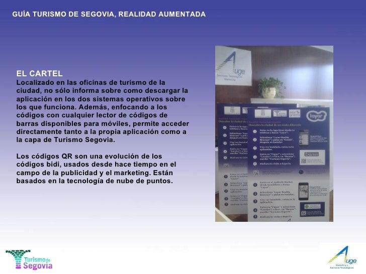 Gu a de segovia realidad aumentada for Segovia oficina de turismo
