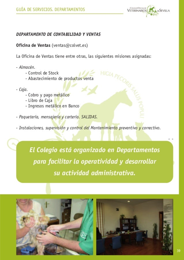 Guía de Servicios Colegio de veterinarios de sevilla - photo#14