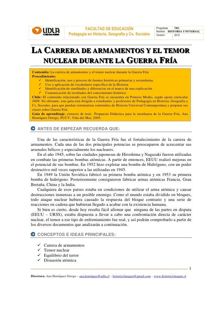 FACULTAD DE EDUCACIÓN                                Programas  TAC                                                       ...