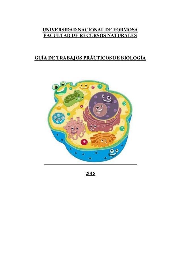 Guía de trabajos prácticos de biología