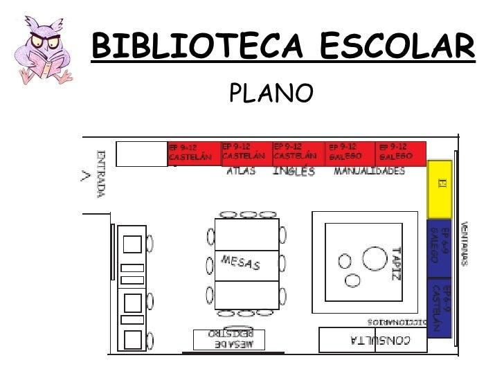 BIBLIOTECA ESCOLAR PLANO