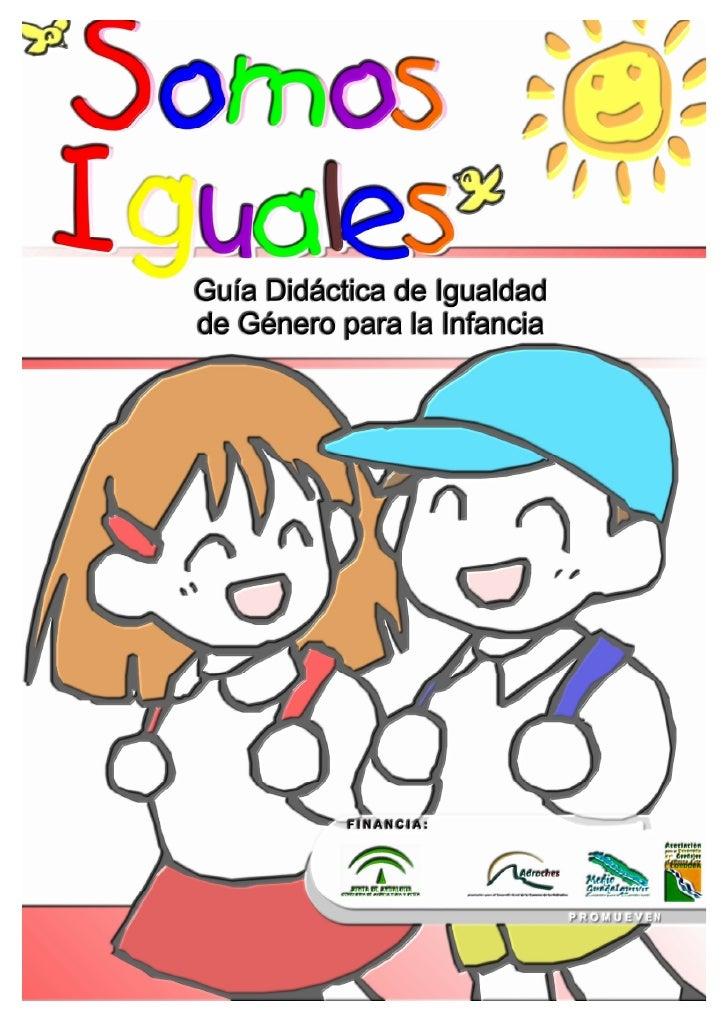 Guía Didáctica Género Iguales Iii 10 11 06