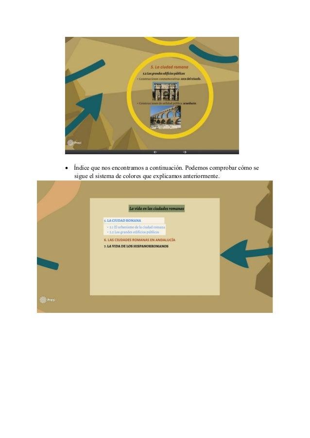  Diapositiva correspondiente al epígrafe 6: Las ciudades romanas en Andalucía En esta segunda diapositiva, se amplía el m...