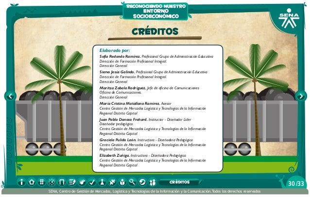 CRÉDITOS Elaborado por: Sofía Redondo Ramírez. Profesional Grupo de Administración Educativa Dirección de Formación Profes...