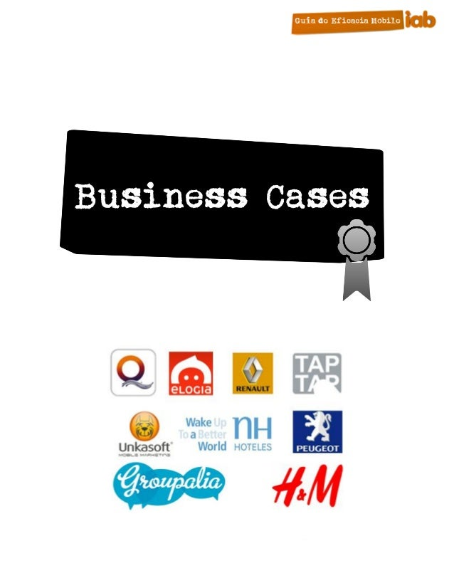 Business Cases      17