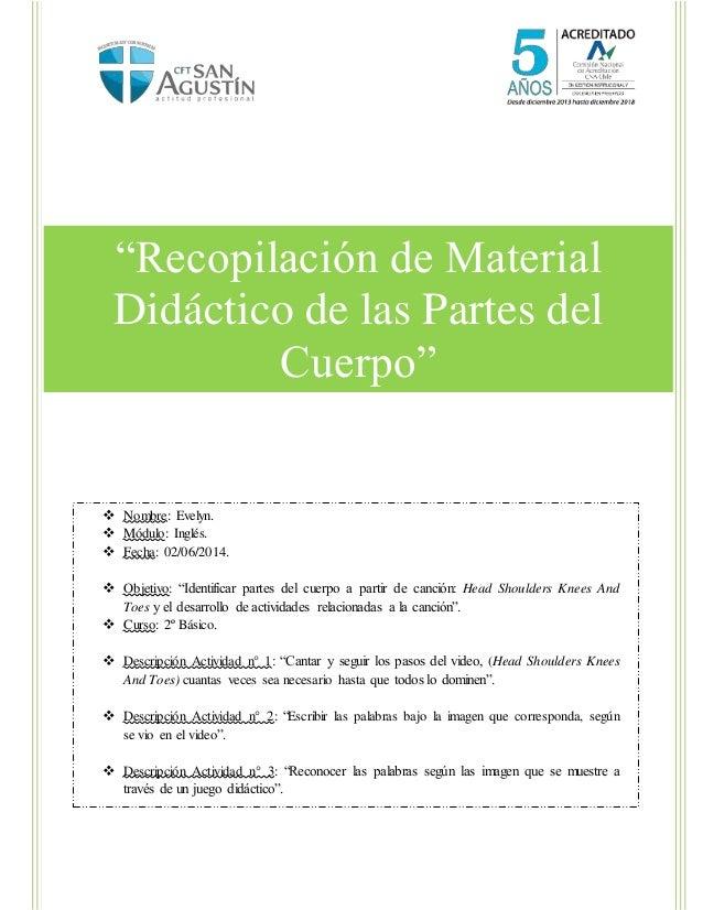 """Laboratorio1 [Escribael nombre de la compañía] [Seleccione lafecha] """"Recopilación de Material Didáctico de las Partes del ..."""