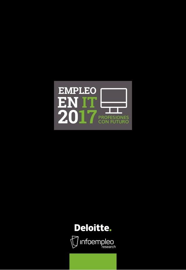 EMPLEO EN IT 2017PROFESIONES CON FUTURO