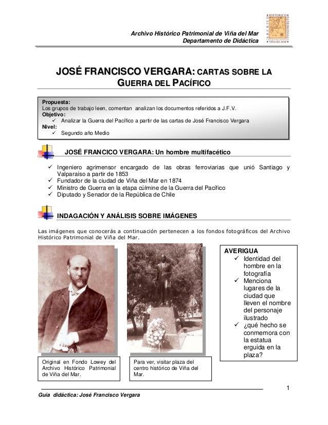 Archivo Histórico Patrimonial de Viña del Mar                                                       Departamento de Didáct...