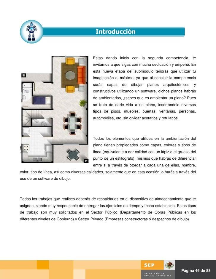 Gu a m1 s2 construcci n for Software planos arquitectonicos