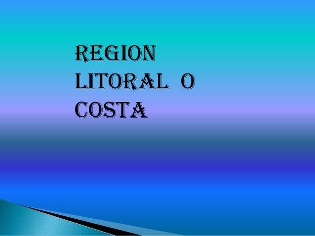 REGIONLITORAL OCOSTA